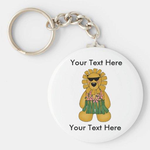 Custom Lioness Keychain
