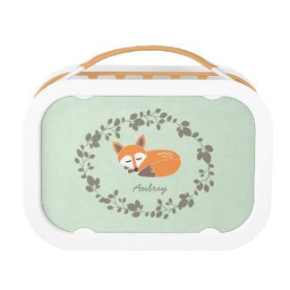 Custom Little Fox Lunchbox