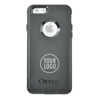 Custom Logo Branded Black Commuter OtterBox iPhone 6/6s Case
