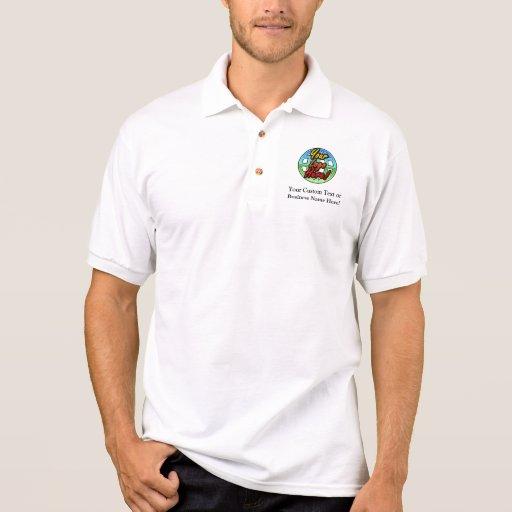 Custom Logo Golf Shirt, No Minimum Quantity