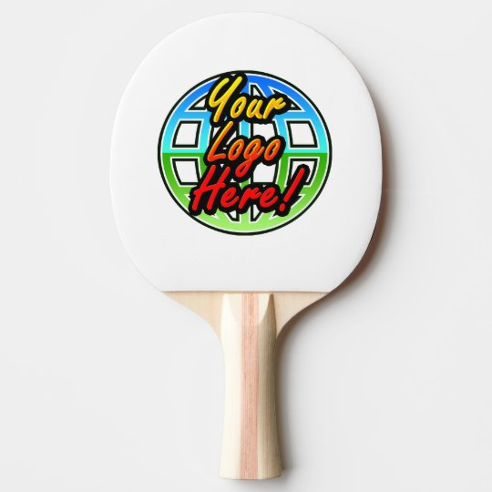 Custom Logo or Photo Personalised Ping Pong Paddle