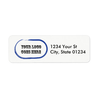 Custom Logo Return Address Labels