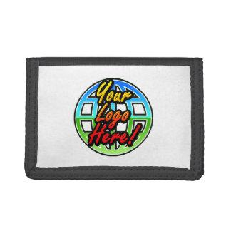 Custom Logo Wallet, No Minimum Quantity Tri-fold Wallets