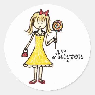 Custom Lollipop stickers
