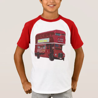 Custom London Bus T-Shirt