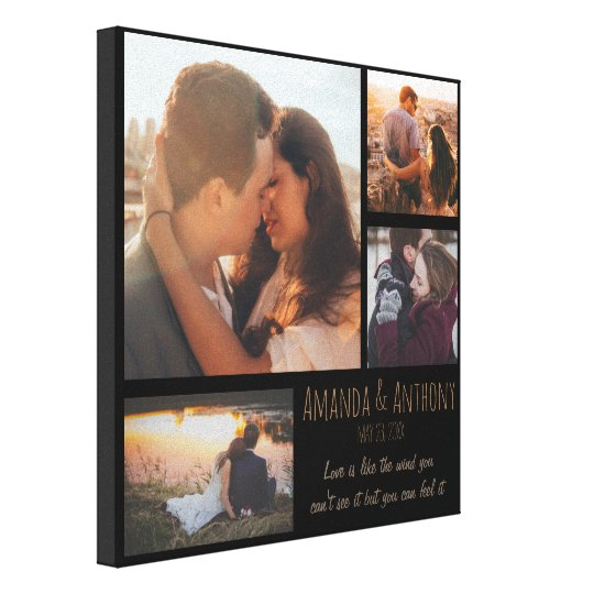 Custom Love and Couple Canvas Print