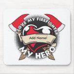 Custom Love My Firefighter