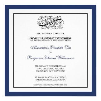custom_luba Simply Elegant Wedding Invitation