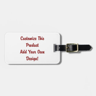 Custom - Luggage Tag