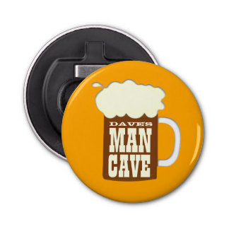 Custom Man Cave Beer Bottle Opener