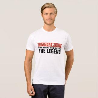 Custom Man, The Myth, The Legend T-Shirt