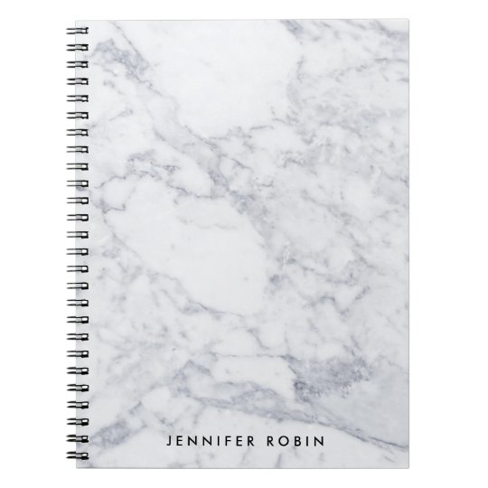 CUSTOM MARBLE NOTEBOOK
