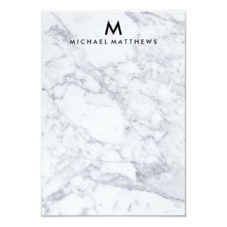 CUSTOM MARBLE STATIONERY CARD