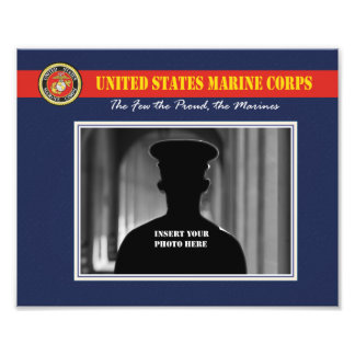 Custom Marine Corps Photo