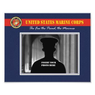 Custom Marine Corps Photo