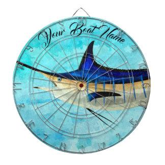 Custom Marlin Dart Board