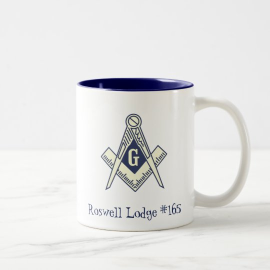 Custom Masonic Blue Lodge Coffee Mug
