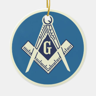 Custom Masonic Blue Lodge Ornament 2