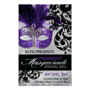 Masquerade Ball Posters Prints