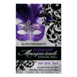 Custom - Masquerade Ball Poster