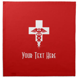 Custom Medical Professional cloth napkins