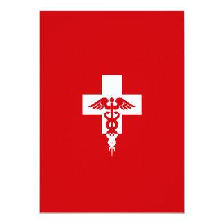 Custom Medical Professional invitation
