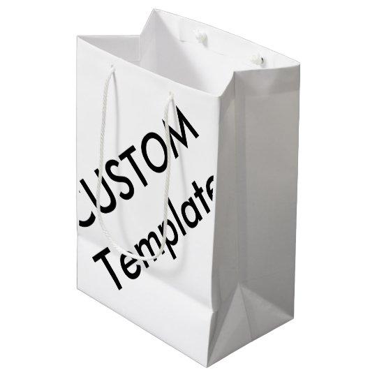 Custom Medium Glossy Gift Bag