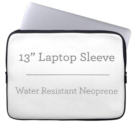 """Neoprene Laptop Sleeve 13"""""""