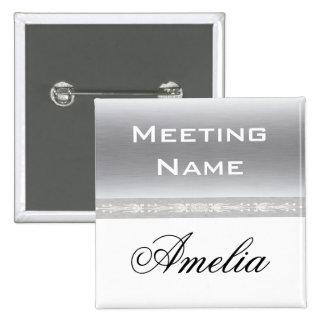Custom meeting name button