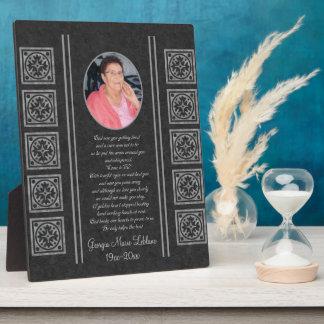 Custom Memorial Keepsakes Plaque