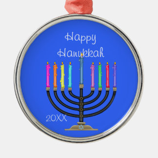 CUSTOM MENORAH &  HANUKKAH Ornament/STAR OF DAVID Christmas Ornament