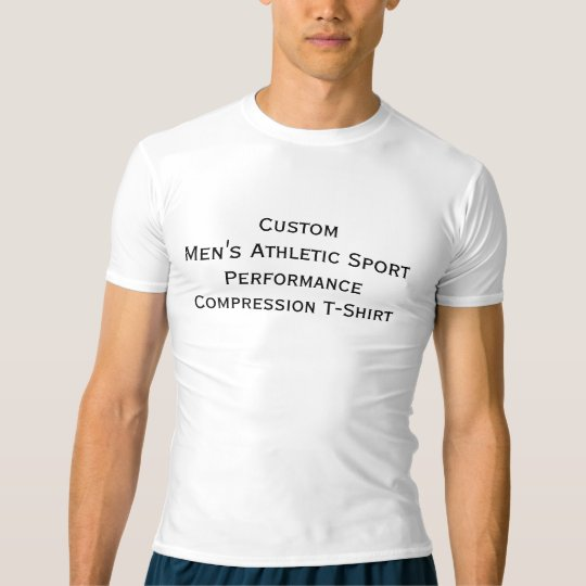 Custom Mens Sports Performance Compression T-Shirt