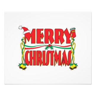 Custom Merry Christmas Invitation Card Stamp Label Photo Print