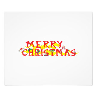 Custom Merry Christmas Invitations Stamps Labels Photograph