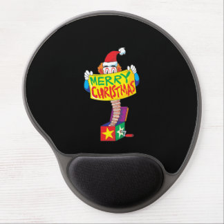 Custom Merry Christmas Jack in a Box Wind Up Cards Gel Mouse Pad