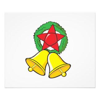 Custom Merry Christmas Star Lantern Invitation Photo