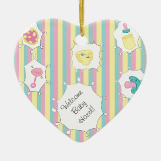 Custom Message Baby Christmas Tree Ornament