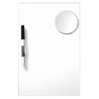 Custom Mirror Dry Erase Board