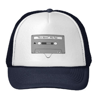 Custom Mix Tape Hat - Totally Awesome!