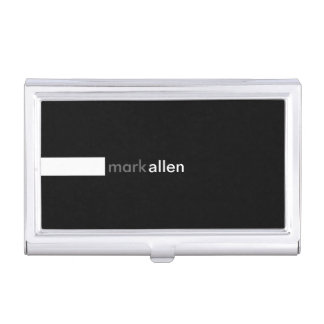 Custom Modern 519e Business Card Holder