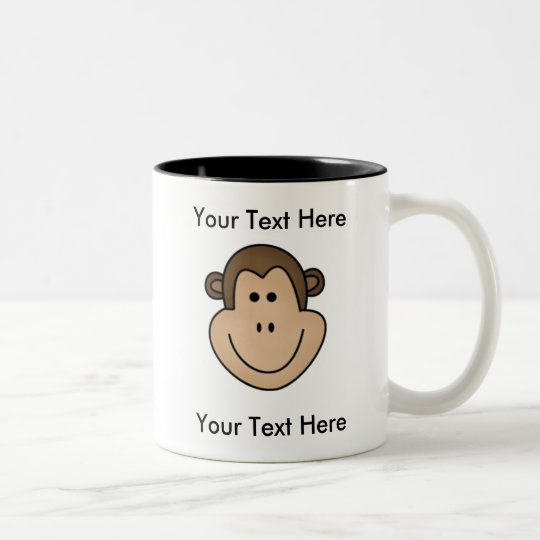 Custom Monkey Mug - Customisable
