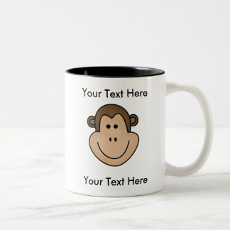 Custom Monkey Mug - Customizable