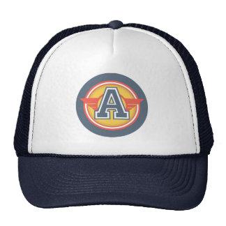 "Custom Monogram ""A"" Initial Cap"