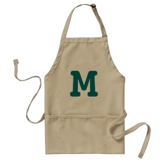 Custom monogram aprons for men women and kids