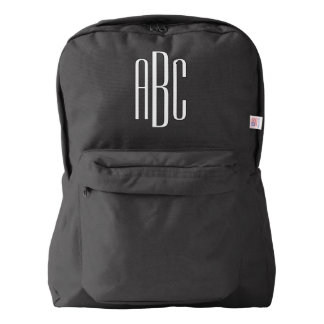 Custom Monogram Backpack