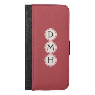 Custom monogram & color case wallets