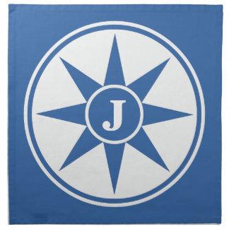 Custom monogram & color cloth napkins