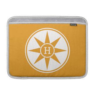 Custom monogram & color MacBook sleeves