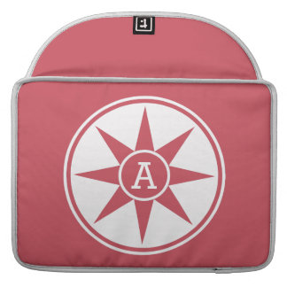 Custom monogram & color MacBook sleeves MacBook Pro Sleeves