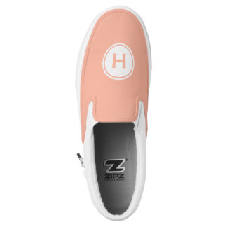 Custom monogram & color slip-on shoes